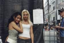 Steffania und Isabelle